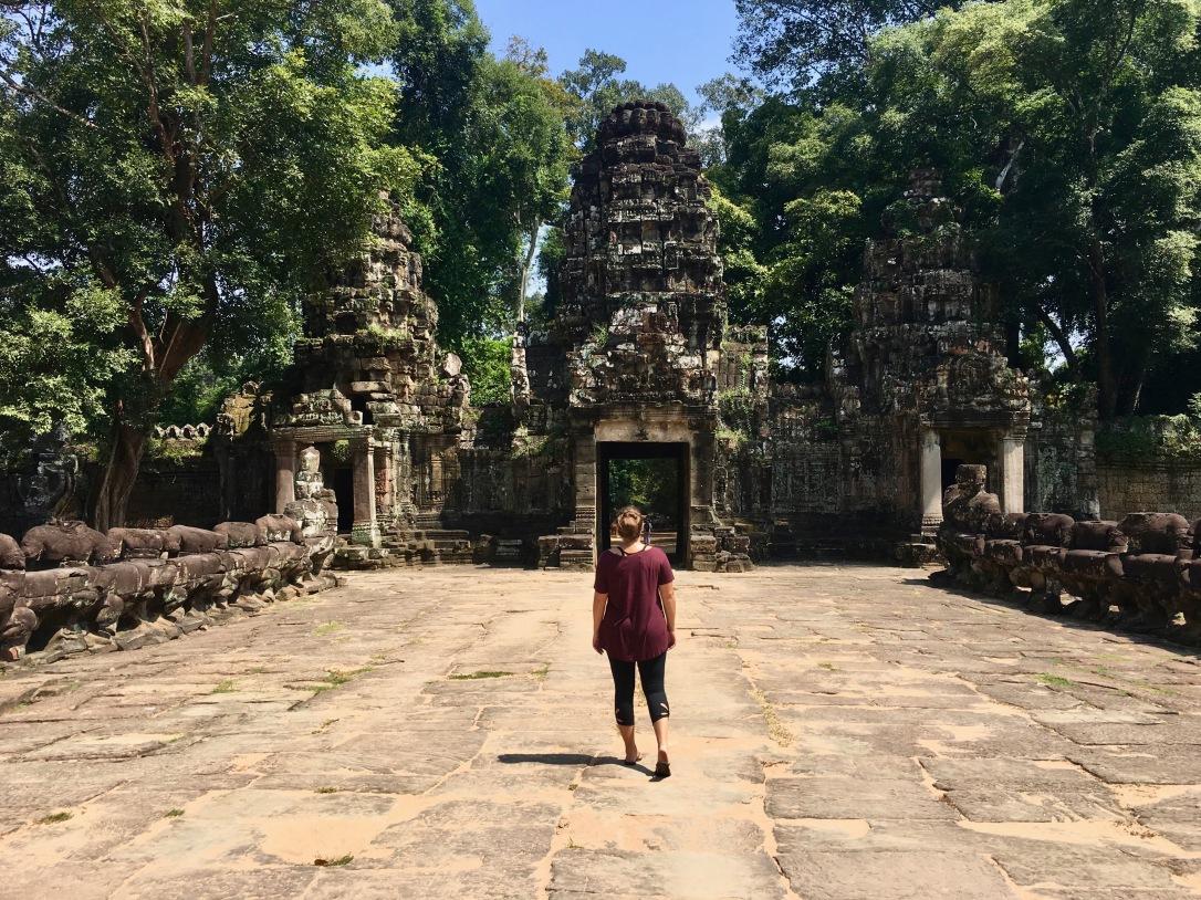 preah khan itinerary